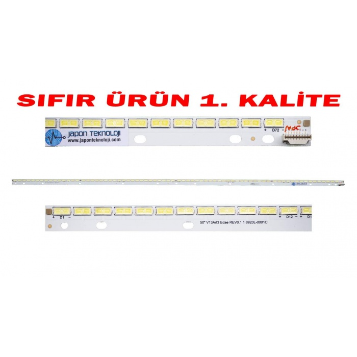 PHILIPS 50PFL5038K/12 , 50PFL5028K/12, 50PFL5008K/12 LED BAR PANEL LEDLERİ , 6922L-0083A , 6916L1291A , LC500EUE(FF)(F1) , SONY KDL-50R550A , KDL-50R556A LED BAR