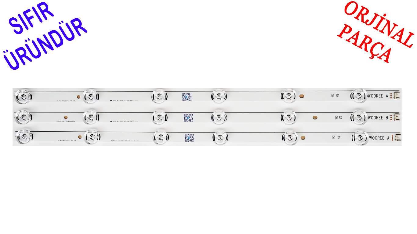 LG Innotek DRT 3.0 32 6920l-0418d , 6920l-0419d LB SERİSİ SIFIR ORJINAL LED BAR TAKIMI 3 ADET