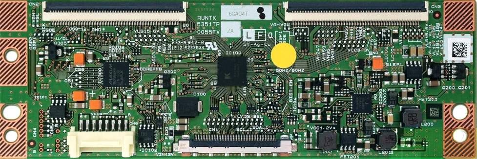 RUNTK 5351TP, 0055FV, CY-HF320BGSV1H, T-Con Board 32f5070 32f5570