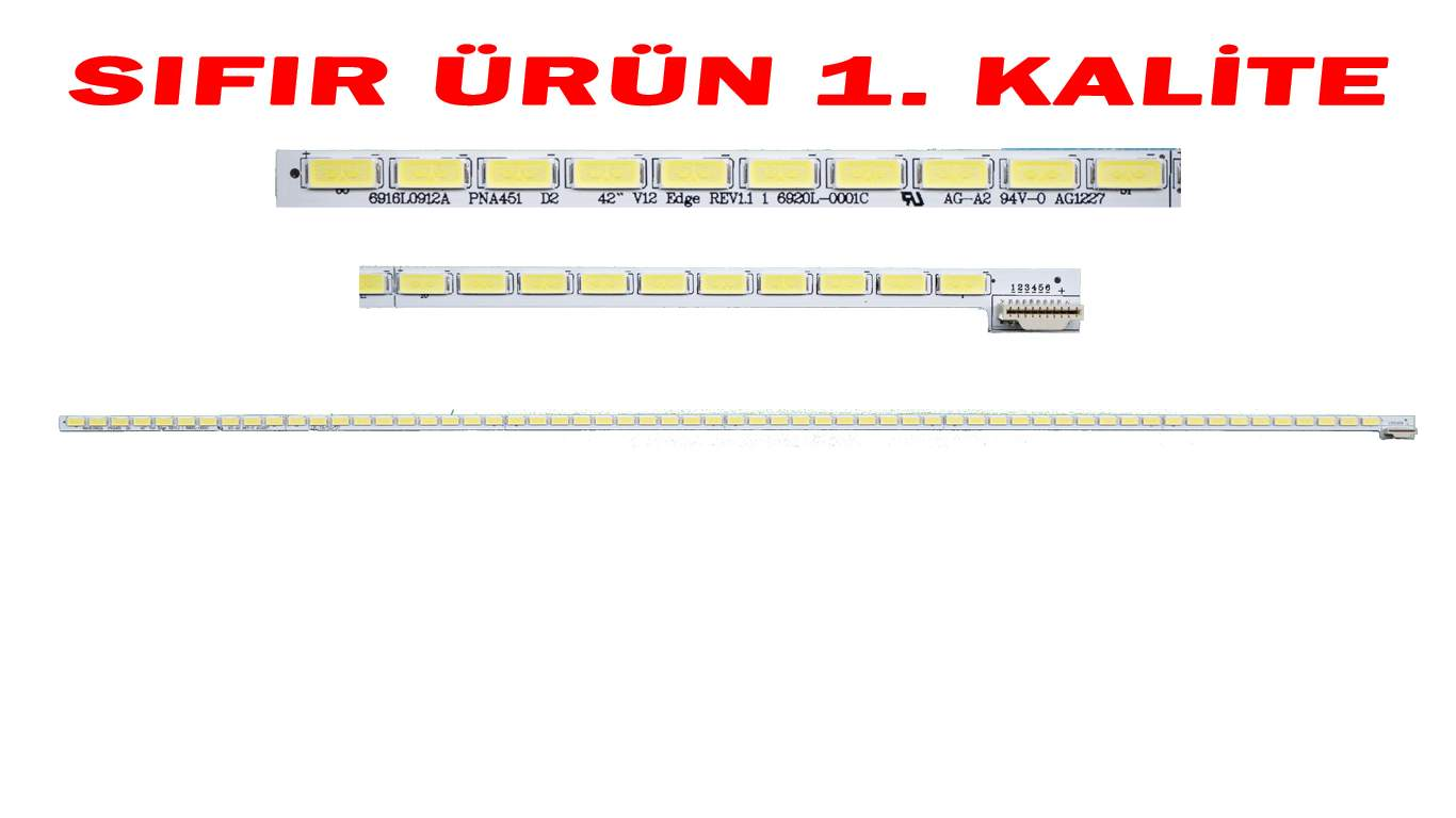 42 V12 6922L-0016A LED BAR , LG 42LM615S, 42LM620S LED BAR, PHILIPS 42PFL4307 LED BAR , PANASONIC TX-L42EW5 LED BAR