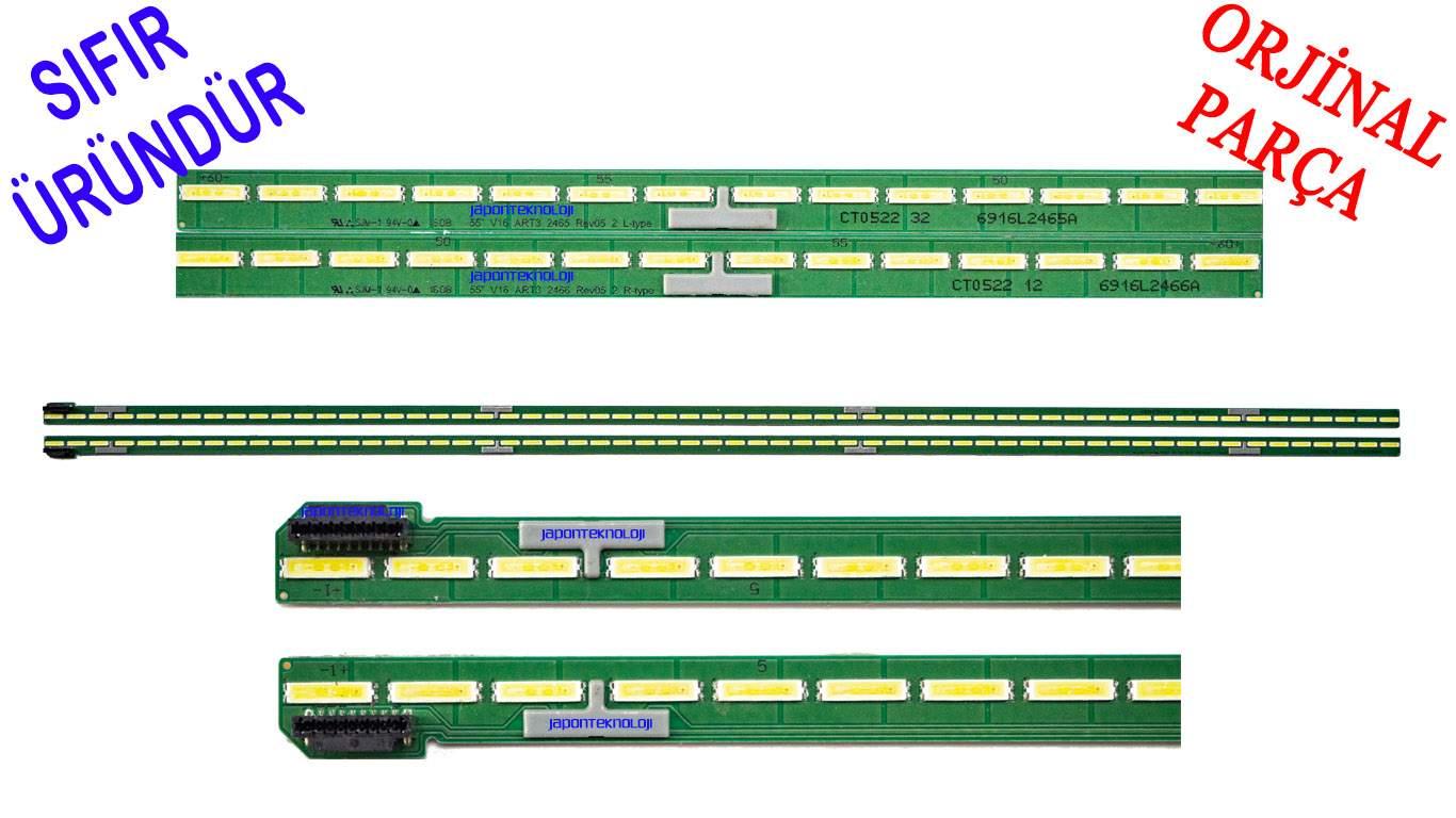 LG 55UH650V LED BAR , 6922L-0189A , 6922L-0199A LED BAR ,  6916L2466A, 6916L2465A, LC550EGG (FJ) (M5) , 55 V16 ART3 2465 2466 , LC550EGG-FJ-M5 LED