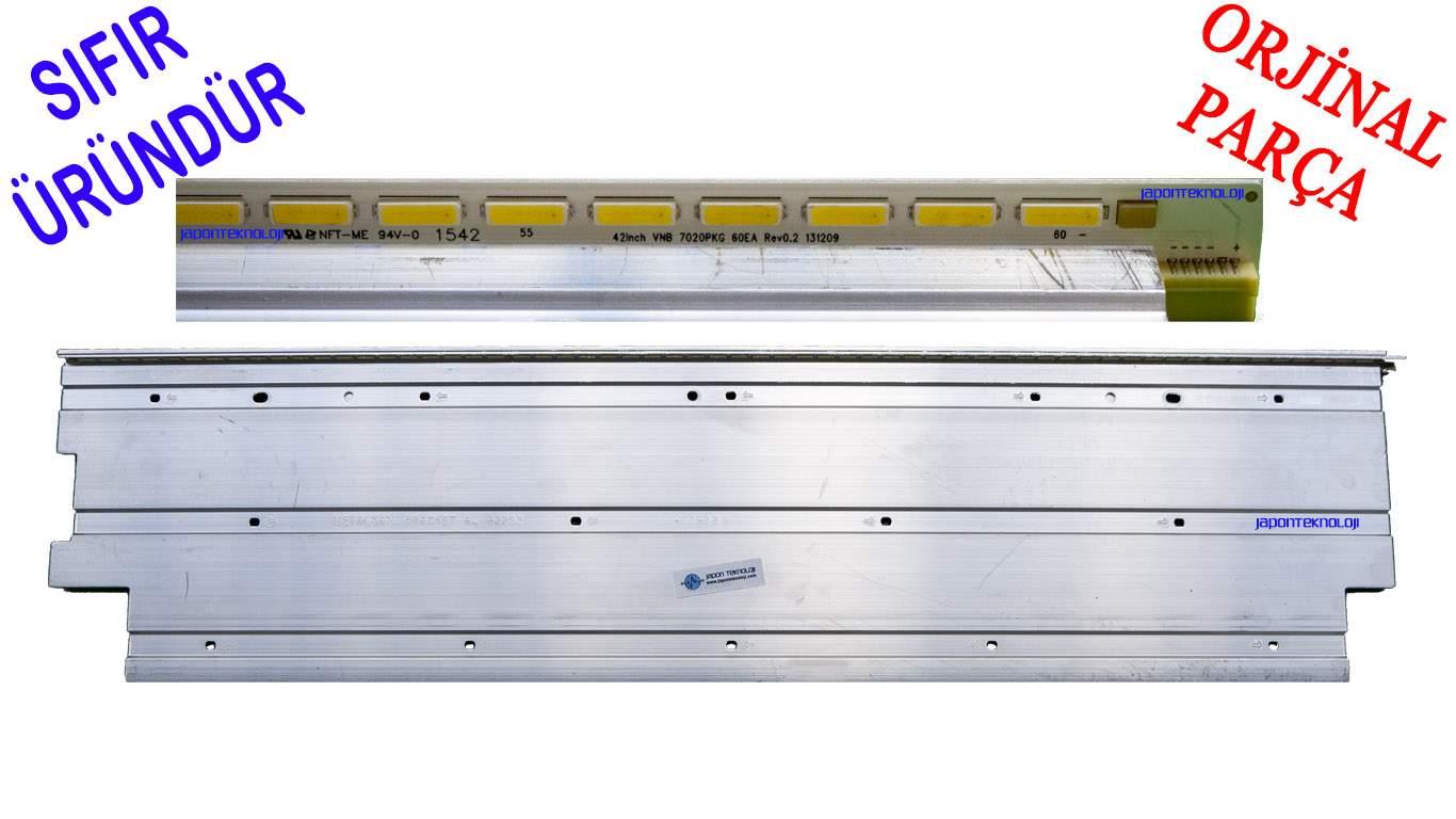 VESTEL VES420UNVL-2D-N01 LED BAR , METALSAN BRACKET AL 42262 , 42INCH VNB 7020PKG 60EA , 42FA7100 LED BAR