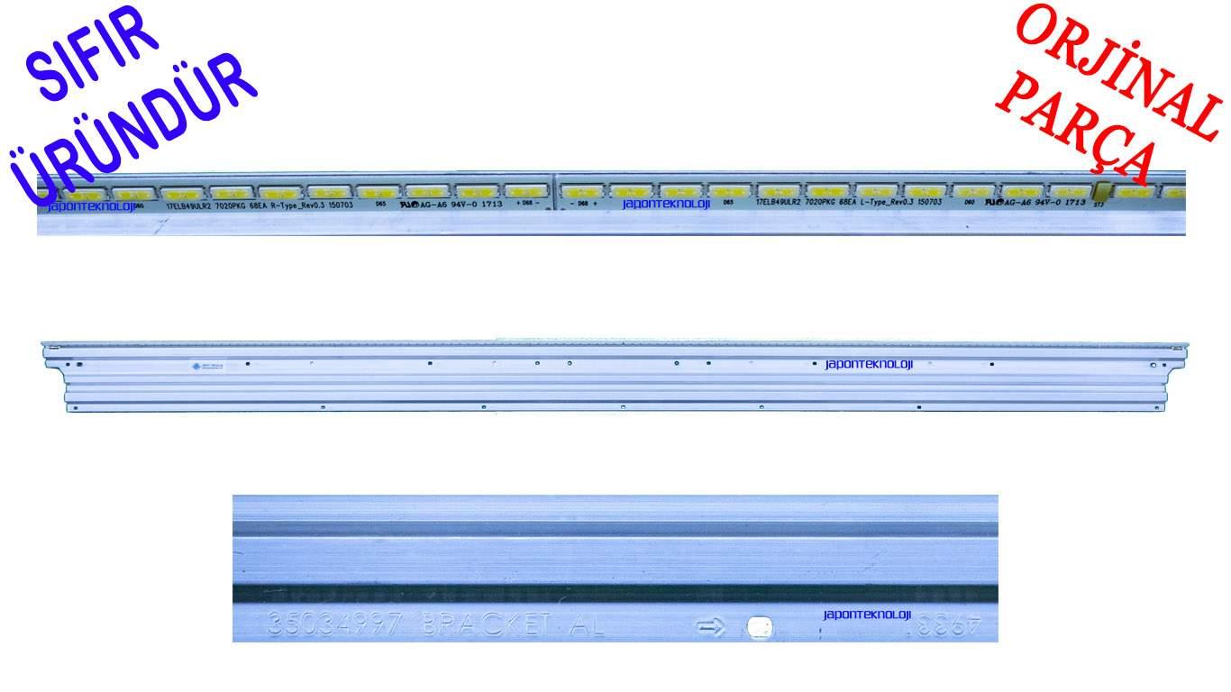 VESTEL 17ELB49ULR2 7020PKG 68EA , 35034997 BRACKET AL , VES490UNEL-2D-U01  LED BAR ,17ELB49ULR2 7020PKG 68EA L-Type_Rev0.3 150703,  17ELB49ULR2 7020PKG 68EA R-Type_Rev0.3 150703, 35034997 BRACKET AL, VES490QNEL-2D-U01